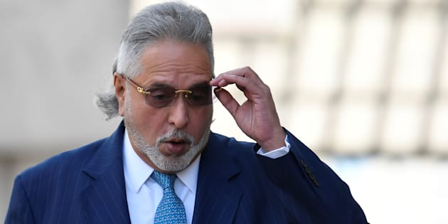 Indian tycoon Vijay Mallya arrives at Westminster Magistrates Court in London, Britain, March 16, 2018.