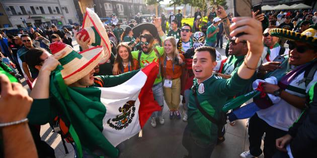 La afición mexicana comenzó a llegar a Rusia desde principios de junio para disfrutar de la Copa del Mundo 2018.