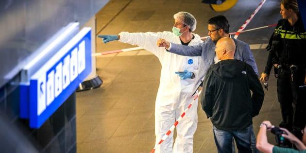 """À Amsterdam, l'auteur de l'attaque au couteau avait une """"motivation terroriste""""."""