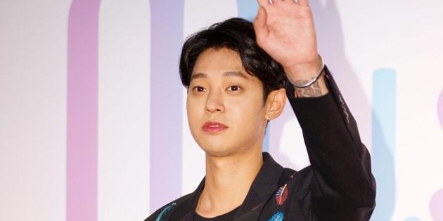 Le chanteur Jung Joon-young en 2017. La star de la K-Pop a mis fin à sa carrière ce mercredi 13 mars, sur fond de scandale sexuel.