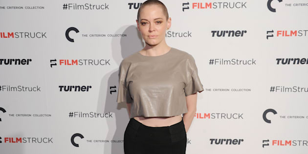 "Rose McGowan urged Hollywood to ""take a stand"" against working with ""predators"" in the industry on Twitter Sunday."