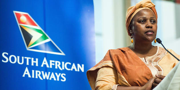 'Disgraced Dudu Myeni must keep away from SAA'