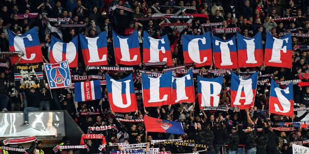 Les ultras du PSG se sont fait entendre contre le FC Bâle le 19 octobre 2016.