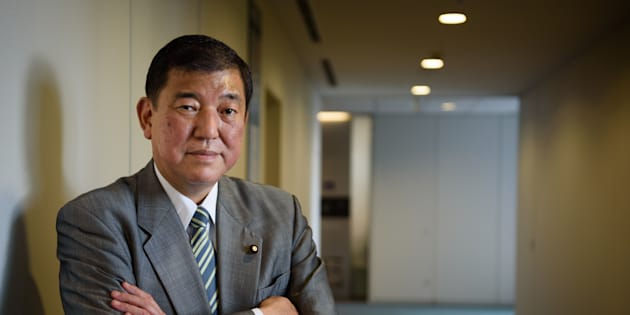 Shigeru Ishiba, Japan's minister in charge of regional revitalization, poses for a photograph in Tokyo, Japan, on Tuesday, June 14, 2016. Negative interest rates wont be allowed to affect ordinary depositors, Ishiba said in the run-up to a July election in which the opposition has sought to make the nations monetary policy an issue. Photographer: Akio Kon/Bloomberg via Getty Images