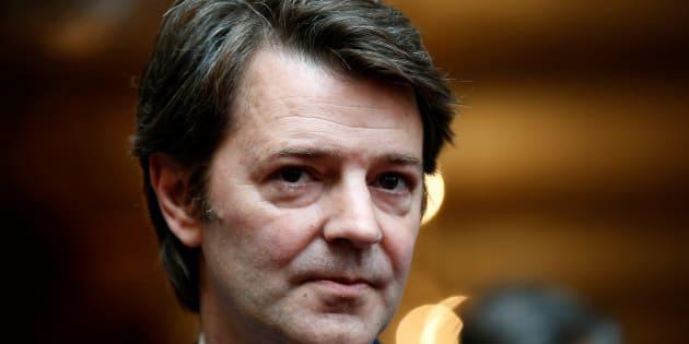 François Baroin, à l'Elysée au mois de juin 2015.