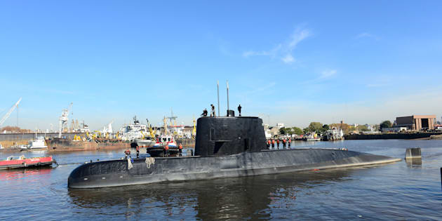 消息を絶ったアルゼンチン海軍の潜水艦「サンフアン」