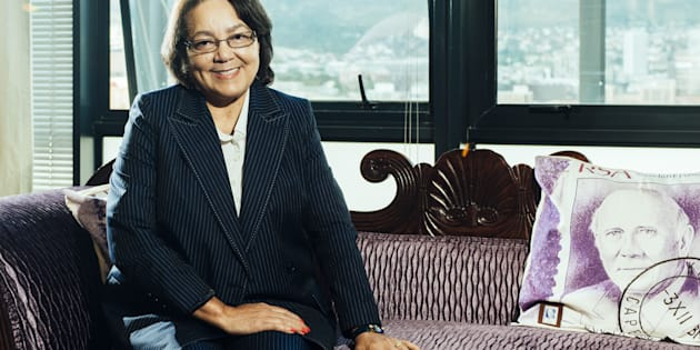Patricia de Lille, mayor of Cape Town. Photographer: Waldo Swiegers/Bloomberg via Getty Images