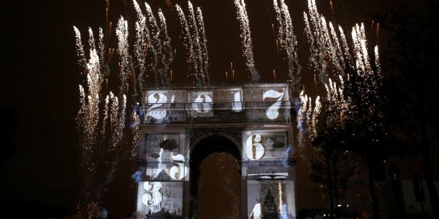 La tempête Carmen menace le feu d'artifice prévu à l'Arc-de-Triomphe pour le réveillon du nouvel an.