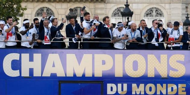 Mes Bleus à moi ne s'appellent pas Mbappé ou Griezmann, mais ils étaient les champions du monde dans ma classe.