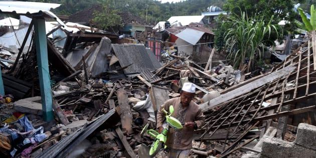 Le bilan du séisme en Indonésie explose à 319 morts