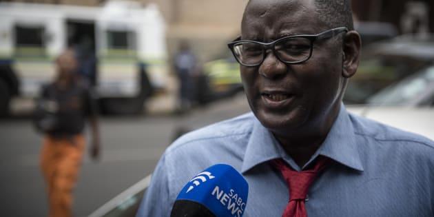 Zwelinzima Vavi, general secretary of Saftu.