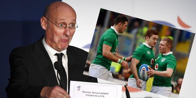 Pourquoi Laporte veut tout faire comme l'Irlande, que le XV de France affronte dans le Tournoi des Six Nations