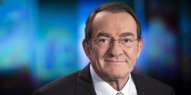 """Jean-Pierre Pernaut sur le plateau du """"13 heures"""" de TF1"""