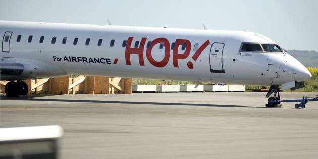 Premier jour de grève pour la compagnie régionale Hop!, avec 31% des vols annulés