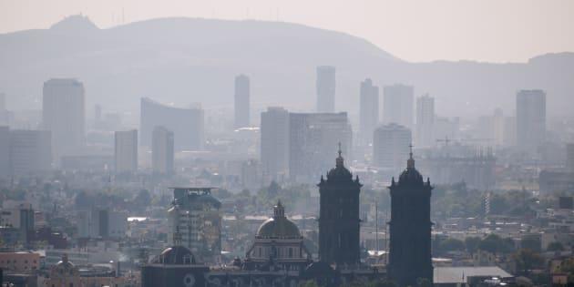 Vista de la zona metropolitana de Puebla.