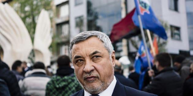 Valery Simeonov, líder del partido Frente Nacional para la Salvación de Bulgaria.