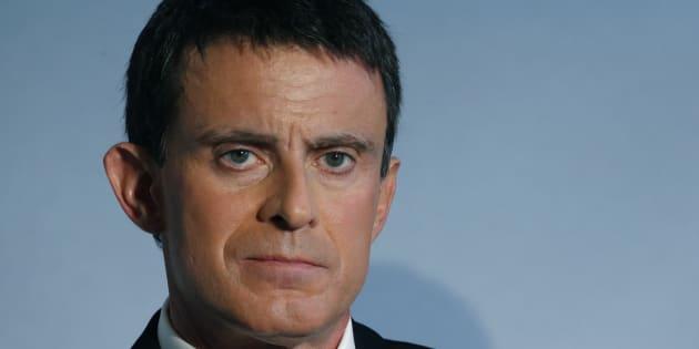 Manuel Valls à Matignon le 18 novembre 2016. REUTERS/Jacky Naegelen