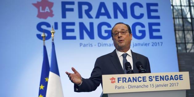 François Hollande prend la présidence de la fondation La France s'engage.