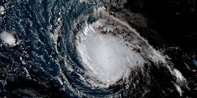 Dans les Caraïbes, l'ouragan Irma passe en catégorie maximale 5.