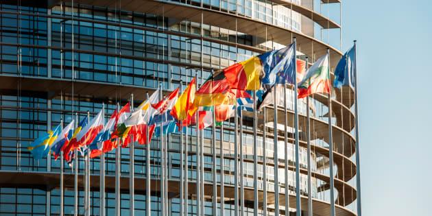 El Parlamento Europeo en Estrasburgo (Francia).