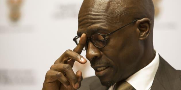 Malusi Gigaba, South Africa's finance minister.
