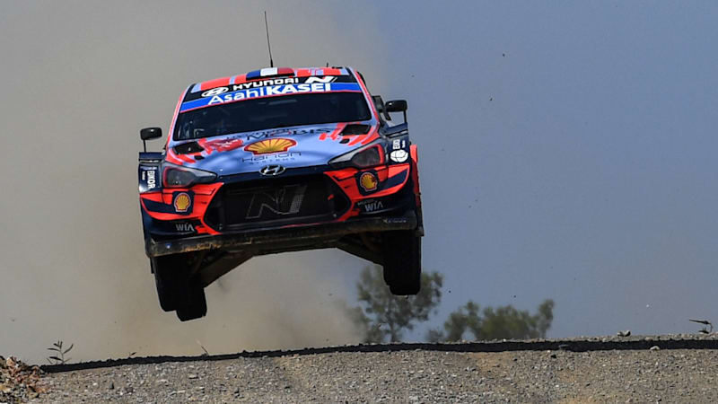 Sebastien Loeb becomes the oldest driver to lead a WRC round
