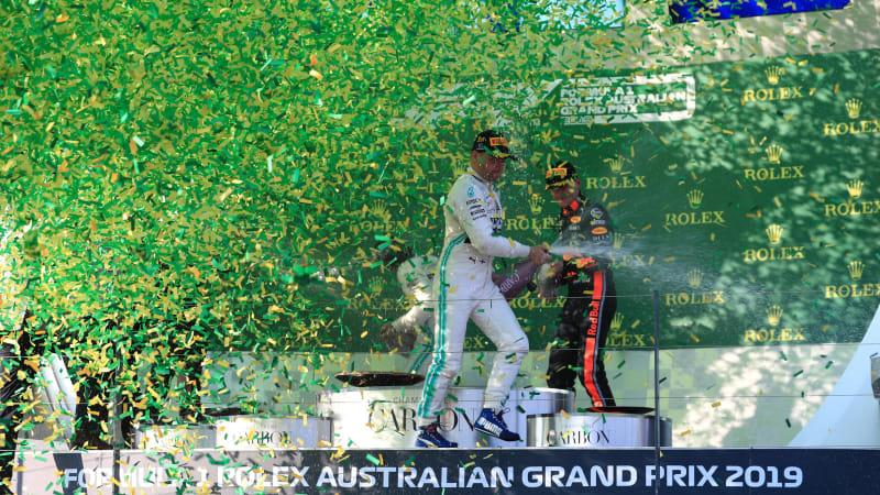 Valtteri Bottas and Mercedes dominate Australian Grand Prix