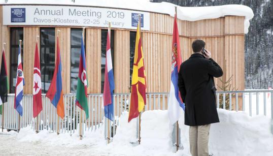 Bolsonaro et la Chine, grands gagnants d'un Forum de Davos sans Trump, Macron ni