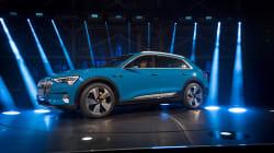 «E-tron»: le nom du nouveau VUS électrique d'Audi n'est pas passé