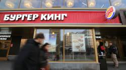 Burger King s'excuse d'avoir incité les femmes russes à coucher avec des