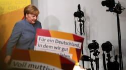 La victoire de Merkel assombrie par un «séisme»