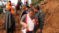 At Least 40 Feared Trapped In Philippines Landslide: