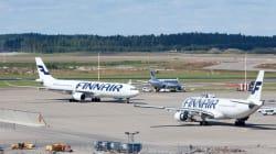 L'aereo della Finnair