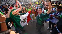Son mexicanos, son aficionados, son miles y han tomado a Rusia por