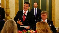 Gritan asesino a Peña Nieto en su última gira en Europa como