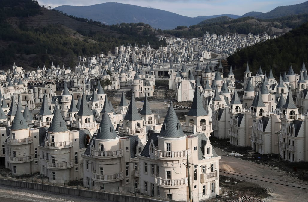 Image result for Turkey's Abandoned Castle Village