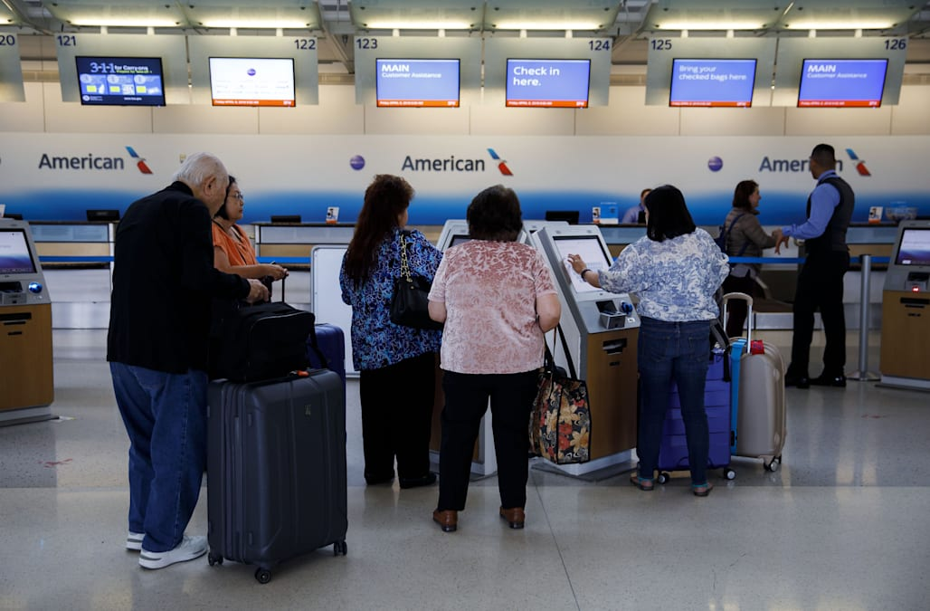 Air travelers are starting to feel the effects of the