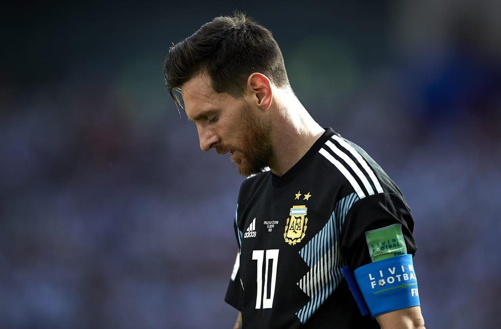 Lionel Messi's mother says he 'suffers and cries' in ...
