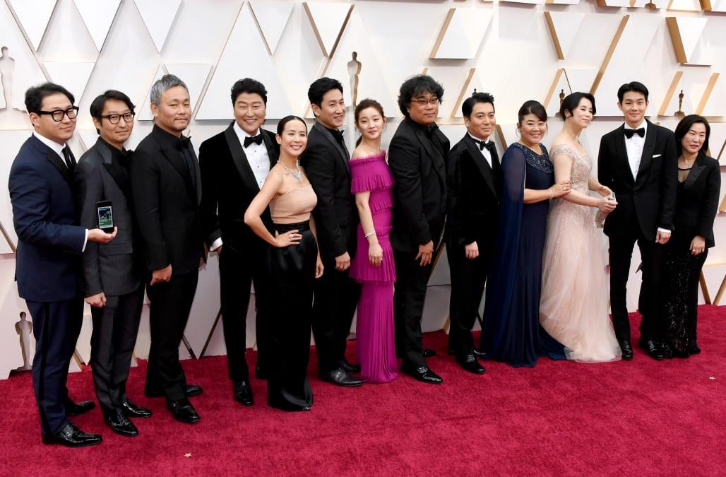 'Parasite' makes history at 2020 Academy Awards