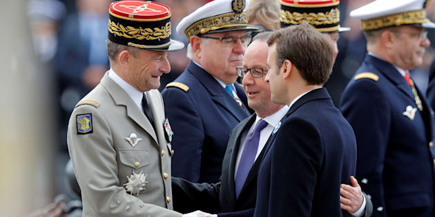 France: passation de pouvoir Hollande-Macron