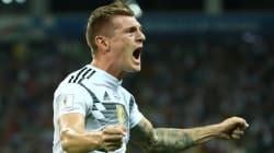 Ce coup franc miraculeux marqué à la 95e minute sauve l'Allemagne d'une très probable