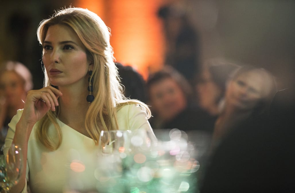 Even first daughter Ivanka Trump is not immune to the influence of CFDA  Fashion Icon Award recipient Rihanna. On Saturday night, the first daughter  wore a ...