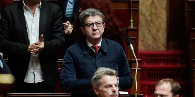 """Lors des débats sur la loi contre les fake news à l'Assemblée, Jean-Luc Mélenchon a accusé les """"prétendus service d'investigation"""" des médias de corrompre la justice."""