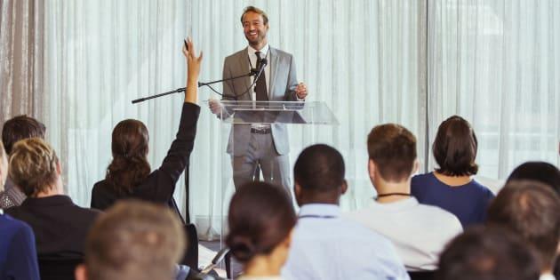 6 conseils pour captiver son audience en entreprise.