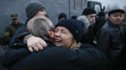 L'ambassadrice française aux premières loges de l'échange entre prisonniers ukrainiens et rebelles