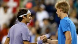 Kevin Anderson Versus Roger Federer: Full-🇿🇦 V