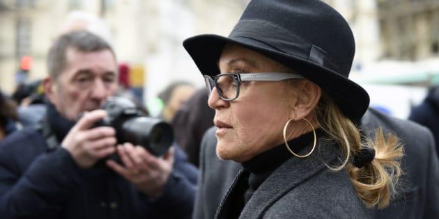 Sheila le 8 janvier 2016 à Paris.