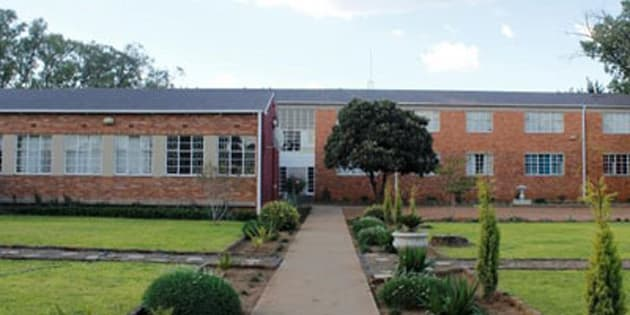 The hostel at Hoërskool Stella.
