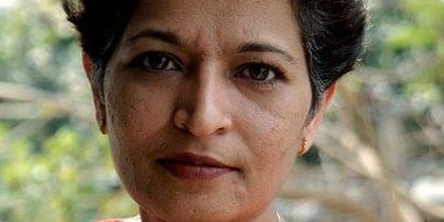 File photo of journalist Gauri Lankesh, who was murdered at her Bengaluru residence on Tuesday, 5 September, 2017.
