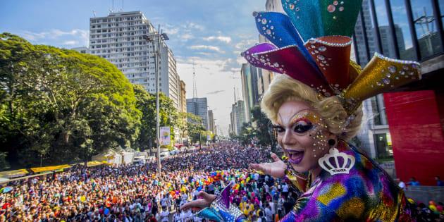 A Parada LGBT 2018 acontece no domingo (3).